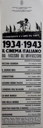 1967 città di Torino cinema34-43 locandina 35x100