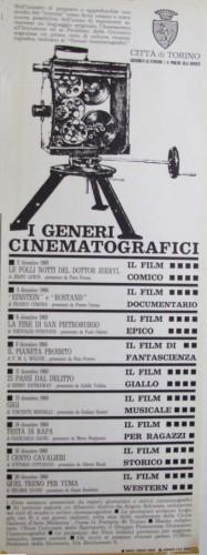 1968 città di Torino cinema locandina 35x100