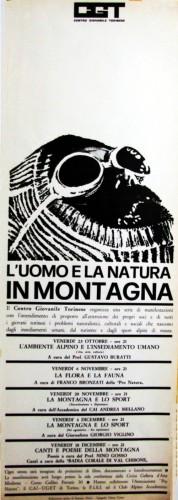 1969 cgt Torino serate locandina 35x100