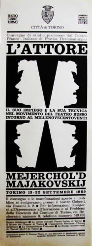 1969 città di Torino cinema locandina 35x100