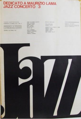 1970 concerto jazz poster50x70