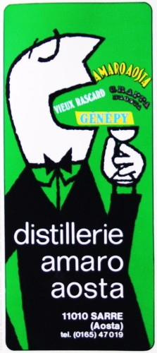 1971 distillerie amosta brochure