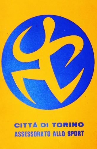 1972 città di Torino assessorato sport logo