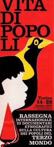 1972 città di Torino rassegna etnica locandina