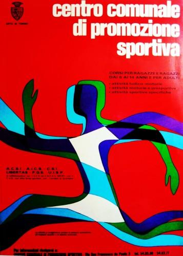 1979 città di Torino sport..  poster 70x100