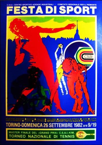 1980_csai Torino sport poster 70x100