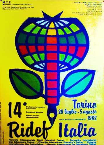 1982 mce ridef Italia poster 70x100