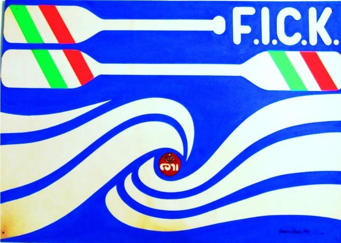 1984 coni f.i.c.k concorso logo
