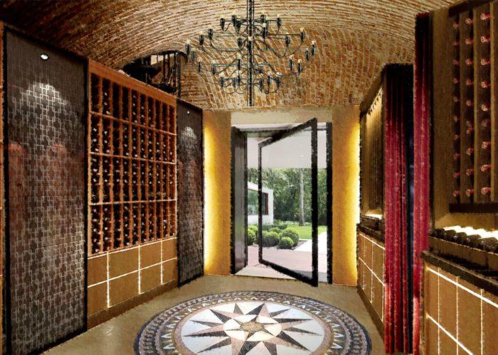 Architettura Tiberio_vineria-Paguro-bernardo_2000_moncalieri_ingresso
