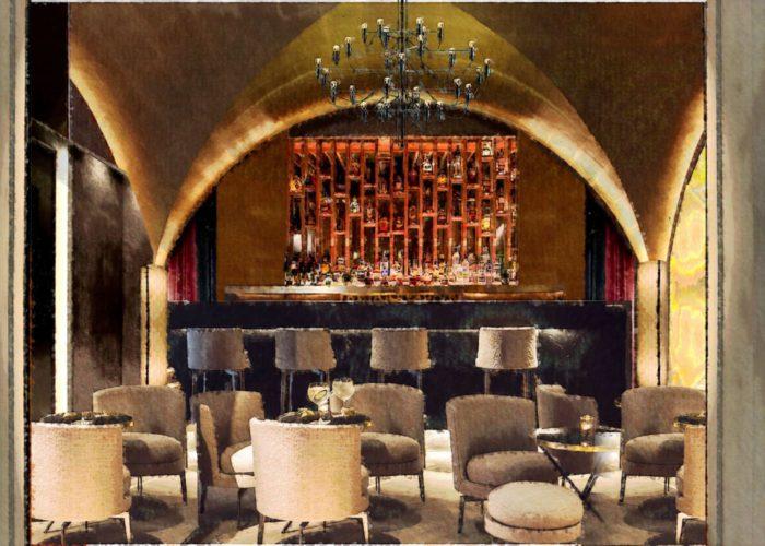 Architettura Tiberio_vineria-Paguro-bernardo_2000_moncalieri_sala volta lounge
