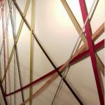 dialoghi urbani installazione realizzata in situ dall'arch. Massimo Tiberio