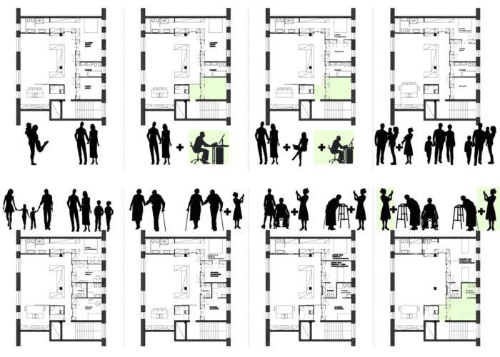 ArchitetturaTiberio_casa M_bologna_2013_flex configuration