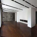 appartamento minimal flessibile, capace di configurarsi diversamente a seconda delle nuove necessità dei proprietari