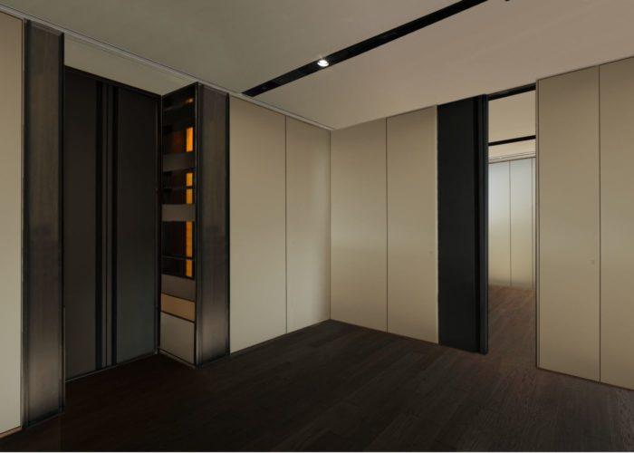 ArchitetturaTiberio_casa M_bologna_2013_stanze comunicante