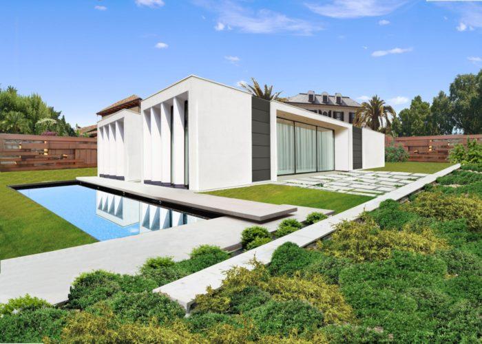 ArchitetturaTiberio_casaFles_cotèAzur_est angolare
