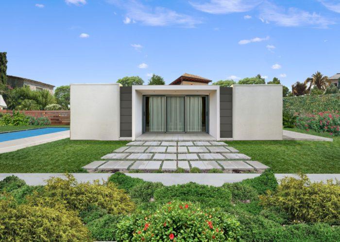 ArchitetturaTiberio_casaFles_cotèAzur_est fronte
