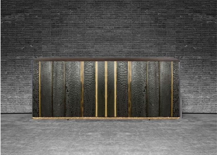 ArchitetturaTiberio_shou sugi ban +gold _cassettone