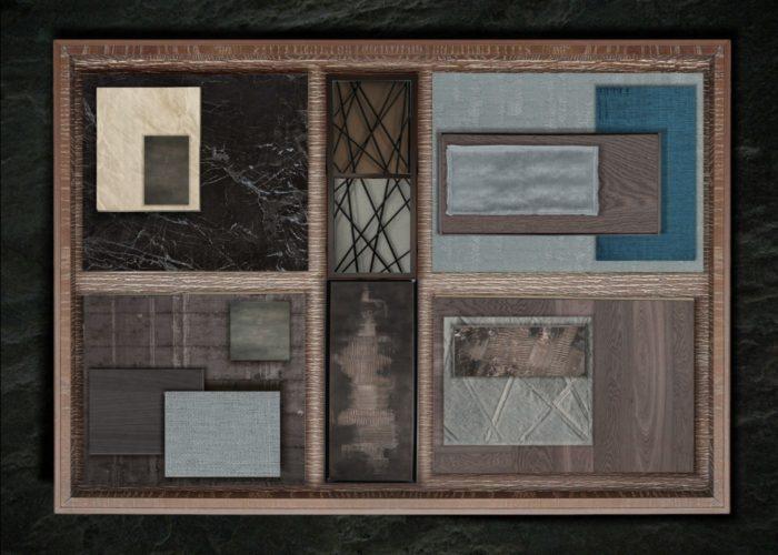 ArchitetturaTiberio_stidiòMNT_montecarlo_2013_material board