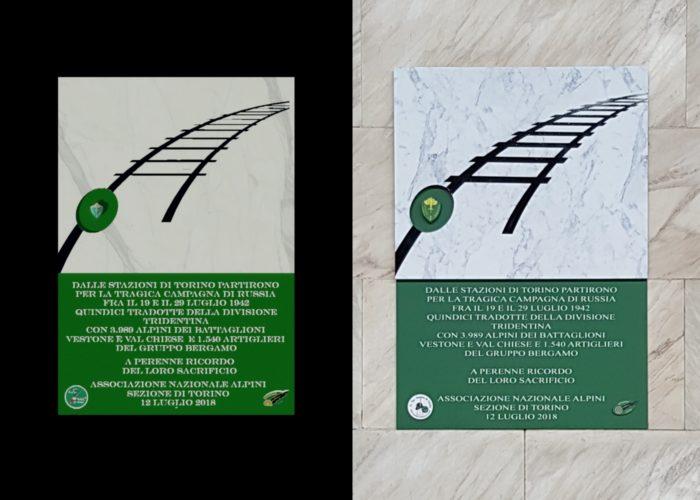 ArchitetturaTiberio_targa TradotteTridentina_2018_Torino_targa