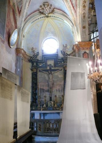 antonietta airoldi, il mantello di san martino_2008_chiesa di s gugliemo_chieri_foto