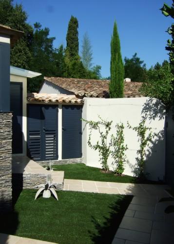 architettura Tiberio_cottage D.M._saint tropez_2013_accesso