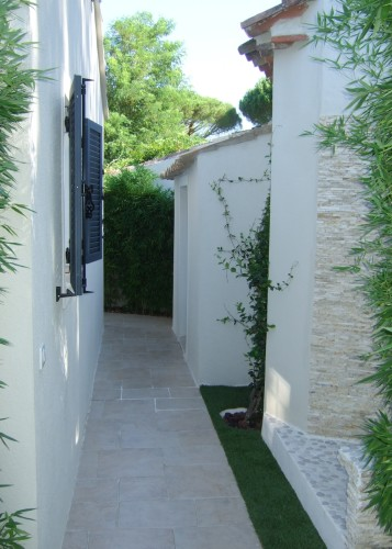 architettura Tiberio_cottage D.M._saint tropez_2013_corridoioEst