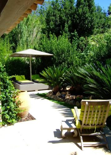 architettura Tiberio_cottage D.M._saint tropez_2013_giardino sud 1