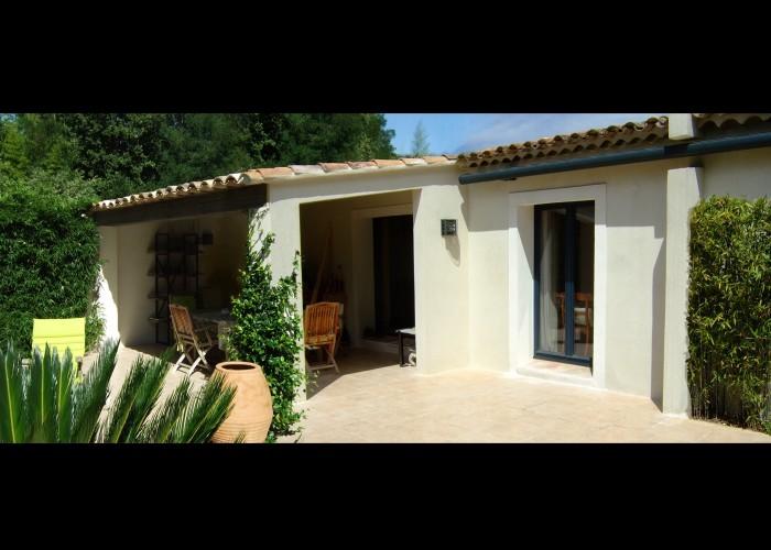 architettura Tiberio_cottage D.M._saint tropez_2013_jardin
