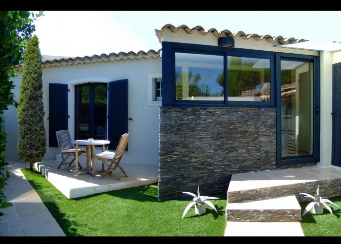 architettura Tiberio_cottage D.M._saint tropez_2013_prospetto nord