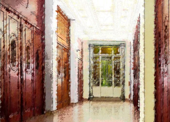 architetturaTiberio_alfa teatro_Torino_schizzo foyer1