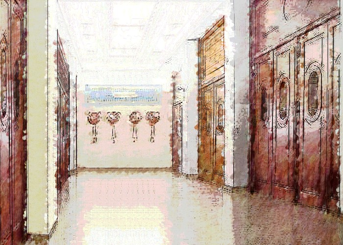 architetturaTiberio_alfa teatro_Torino_schizzo foyer2