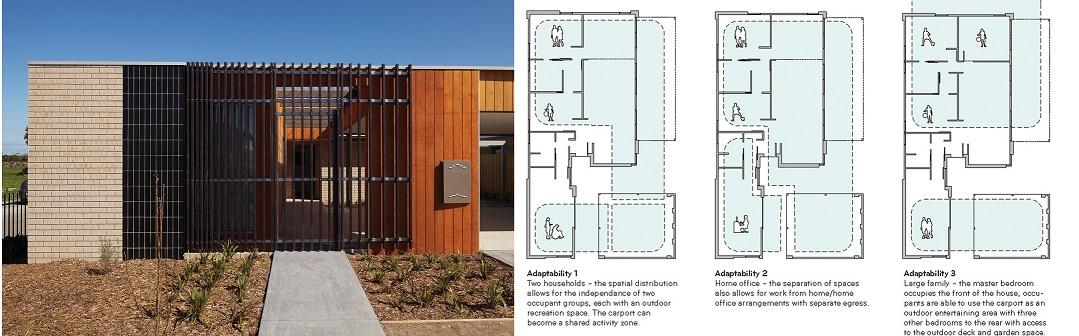 Habitat 21 Adaptable House