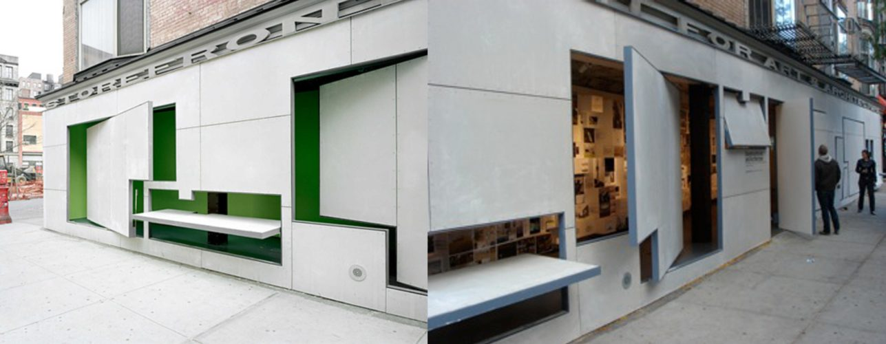 Storefront for Art and Architecture, arch. Steven Holl