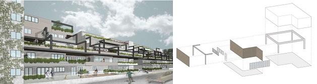 fitzroy north housing projec,, arch. studio platform