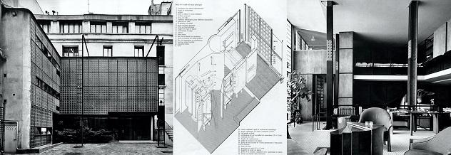 maison de verre. arch.P Chareau, Paris, 1930