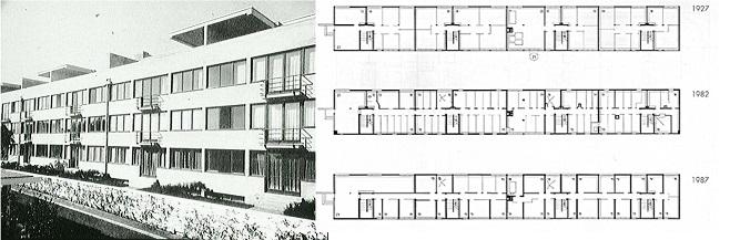 weissenhof. arch. MiesVanDerRhoe, Stoccarda, 1927
