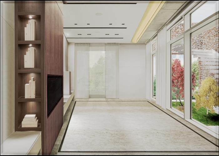 architetturatiberio_caseSchiera_ render interno_salotto