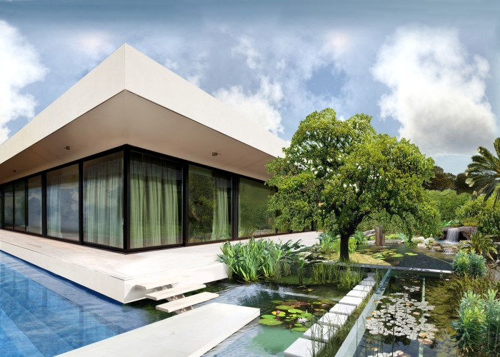 architetturatiberio_maison pieds dans l'eau_2002_phytopurification ouest