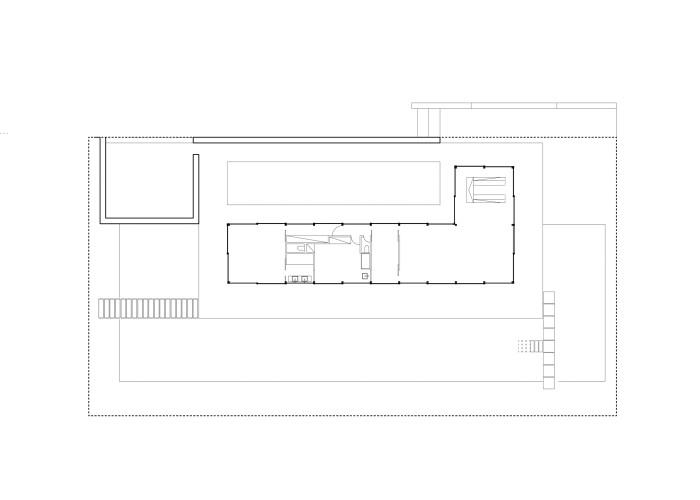 architetturatiberio_maison pieds dans l'eau_2002_plan
