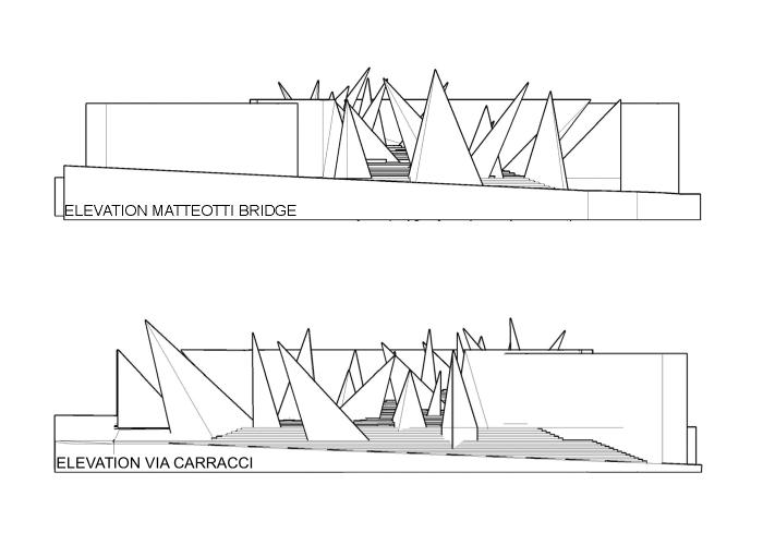 architetturatiberio_monumento shoà_2015_bologna_dt prospetti1