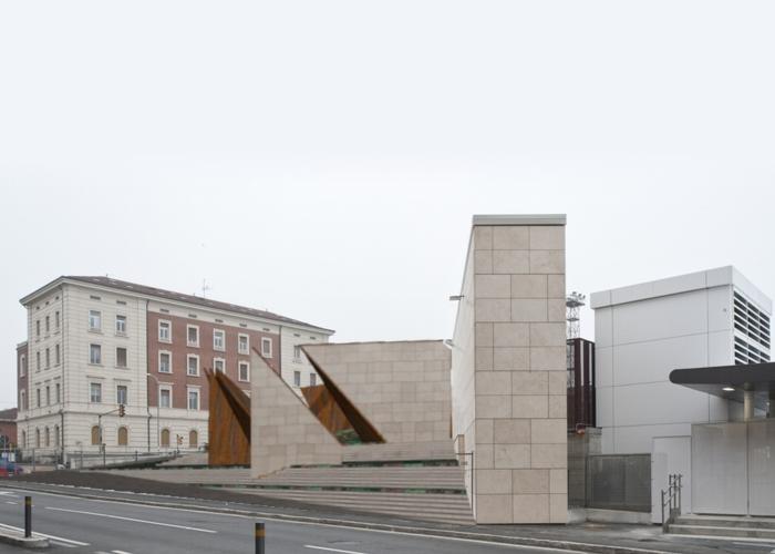 architetturatiberio_monumento shoà_2015_bologna_render 3