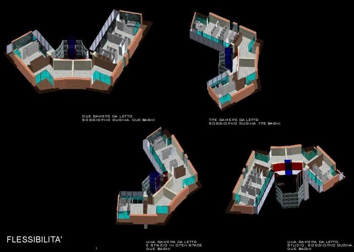 architetturatiberio_studi case_2010_FLESSIBILITA4