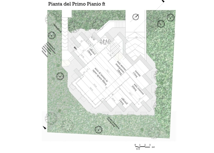arcstudioArchitetturaTiberio_edificio uffici_2010_pianta piano terra