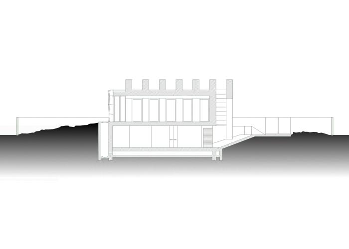 arcstudioArchitetturaTiberio_edificio uffici_2010_sezione