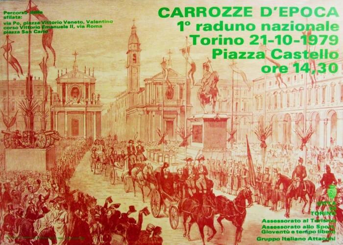 carrozze d'epoca_1979_ poster 70x100