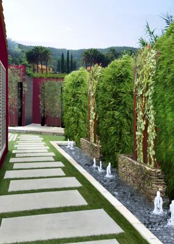 casa B_SaintTropez_giardino est