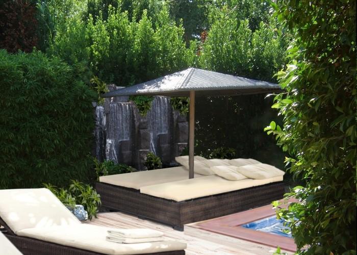 casa B_SaintTropez_giardino sud cascata