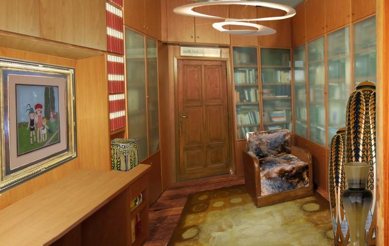 casa cafioma_Torino_2004_biblioteca