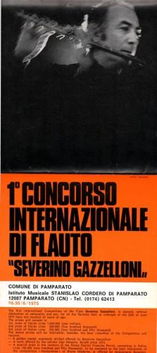 concorso internazionale severino gazzelloni_manifesto