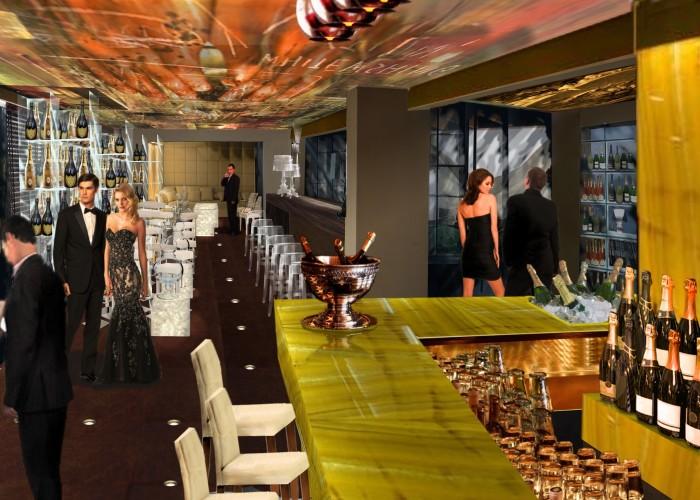 lounge à champagne_ interno locale